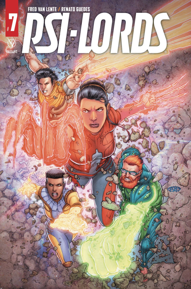 Psi-Lords #7 (Ryp Cover)