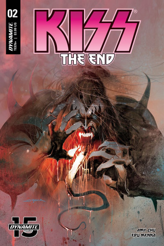 KISS: The End #2 (Sayger Cover)
