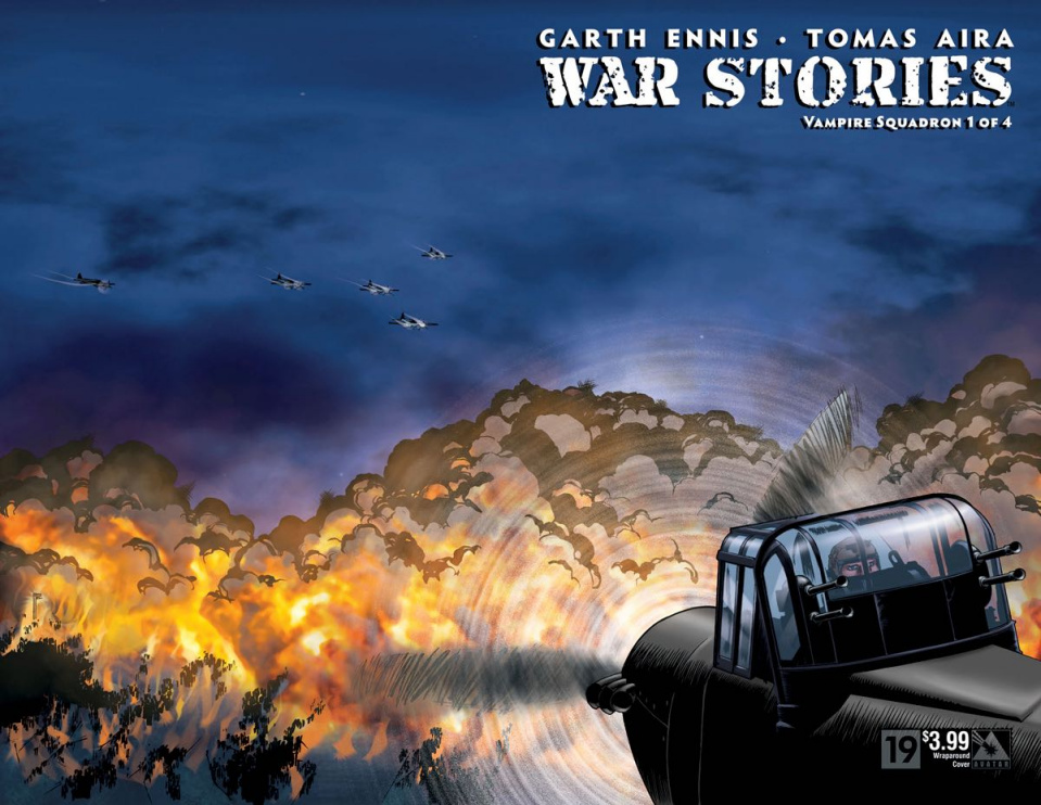 War Stories #19 (Wrap Cover)