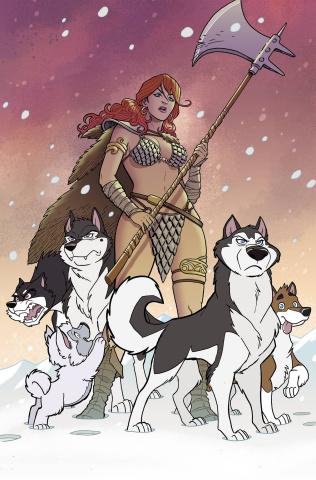Red Sonja #2 (11 Copy Fleecs Virgin Cover)