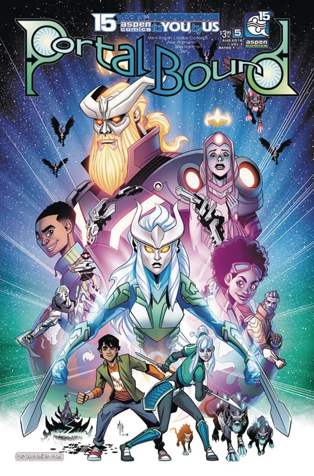 Portal Bound #5 (Arizmendi Cover)