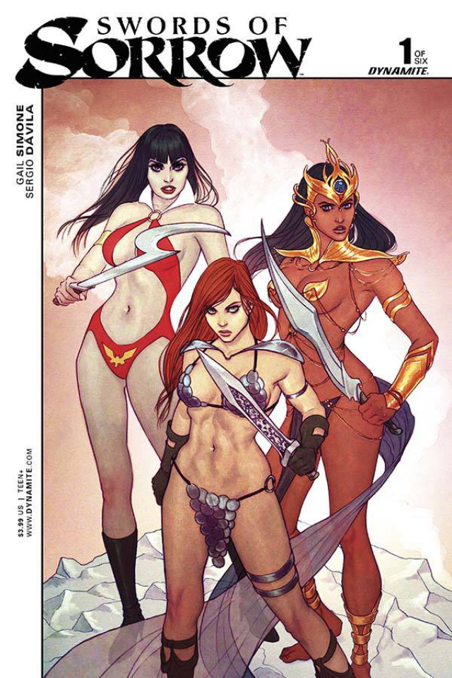 Swords of Sorrow #1 (Frison Cover)