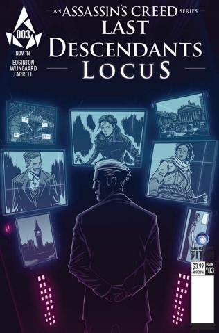 Assassin's Creed: Last Descendants - Locus #3 (Wijngaard Cover)