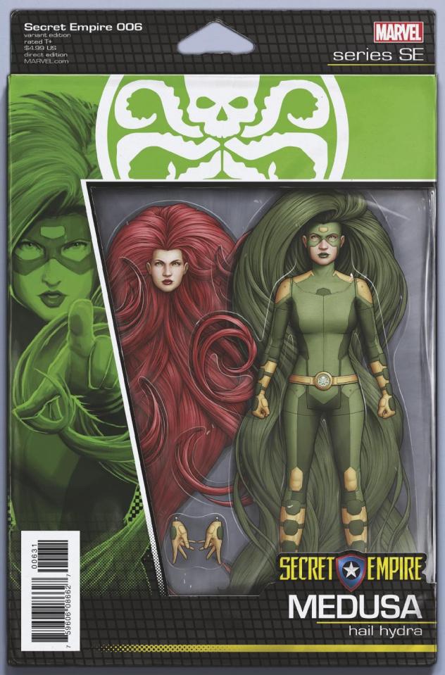 Secret Empire #6 (Christopher Action Figure Cover)