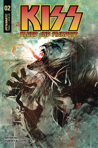 KISS: Blood and Stardust #2 (Sayger Cover)
