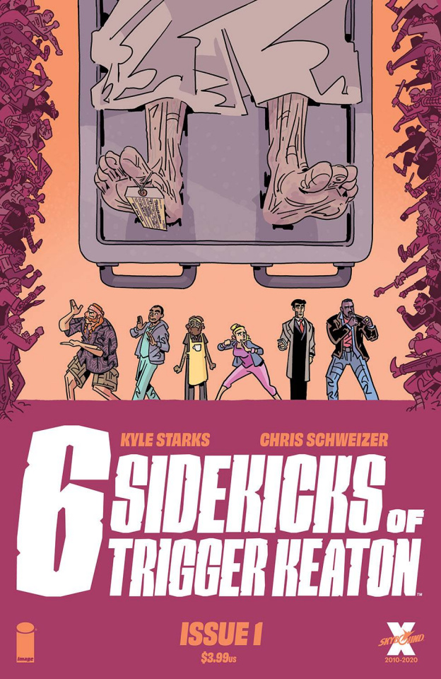Six Sidekicks of Trigger Keaton #1 (Schweizer Cover)