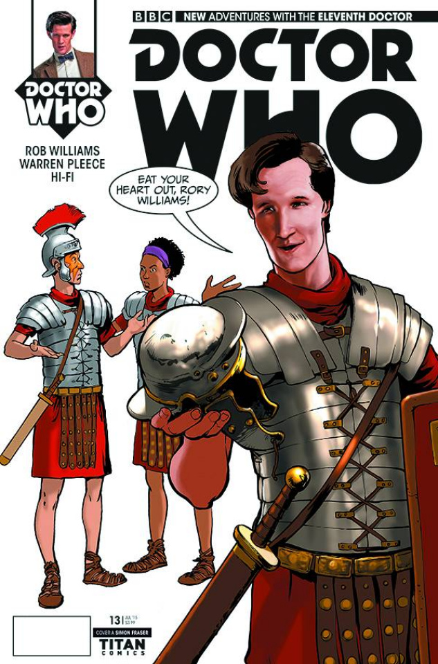 Doctor Who: New Adventures with the Eleventh Doctor #13 (Fraser Cover)