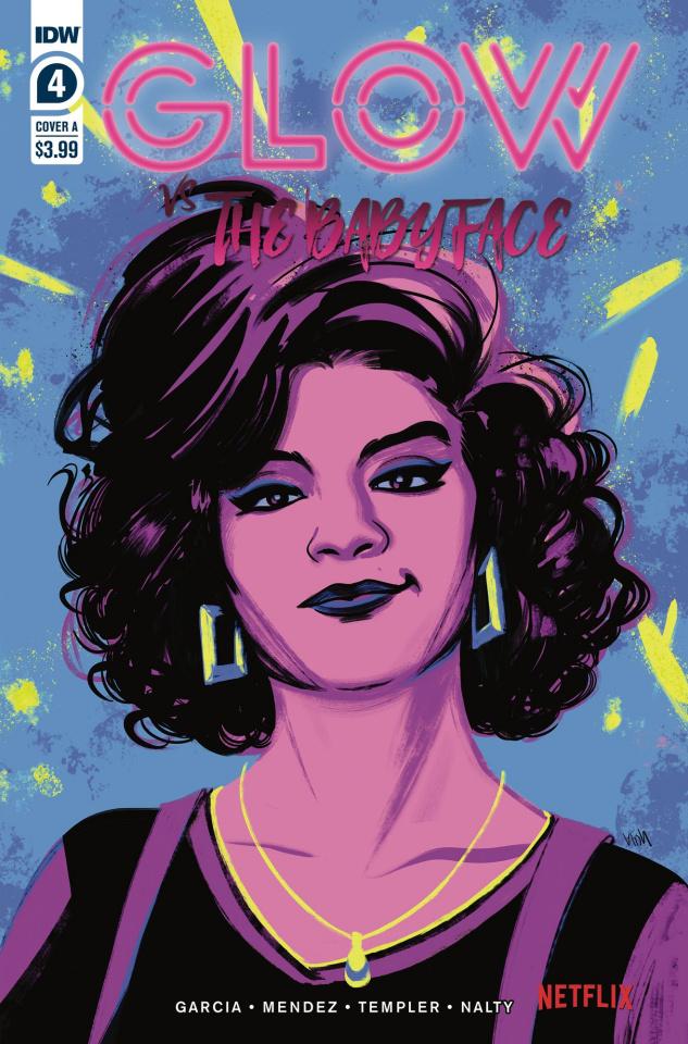 GLOW vs. The Babyface #4 (10 Copy Nodet Cover)