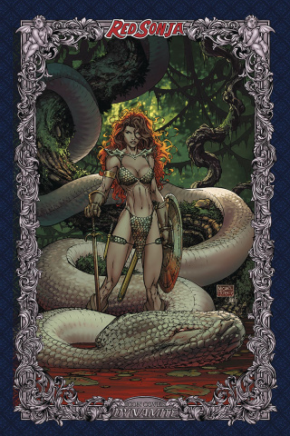 Red Sonja: Age of Chaos #3 (75 Copy Turner Icon Cover)