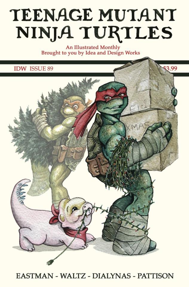 Teenage Mutant Ninja Turtles #89 (10 Copy Edwards Cover)