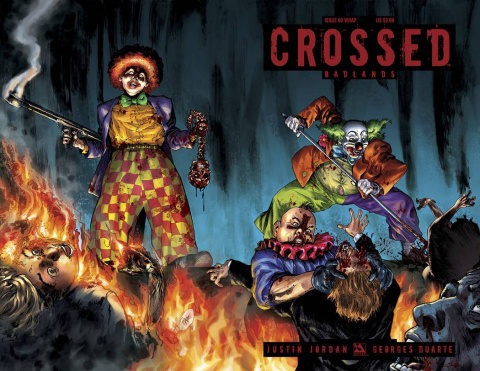Crossed: Badlands #60 (Wrap Cover)