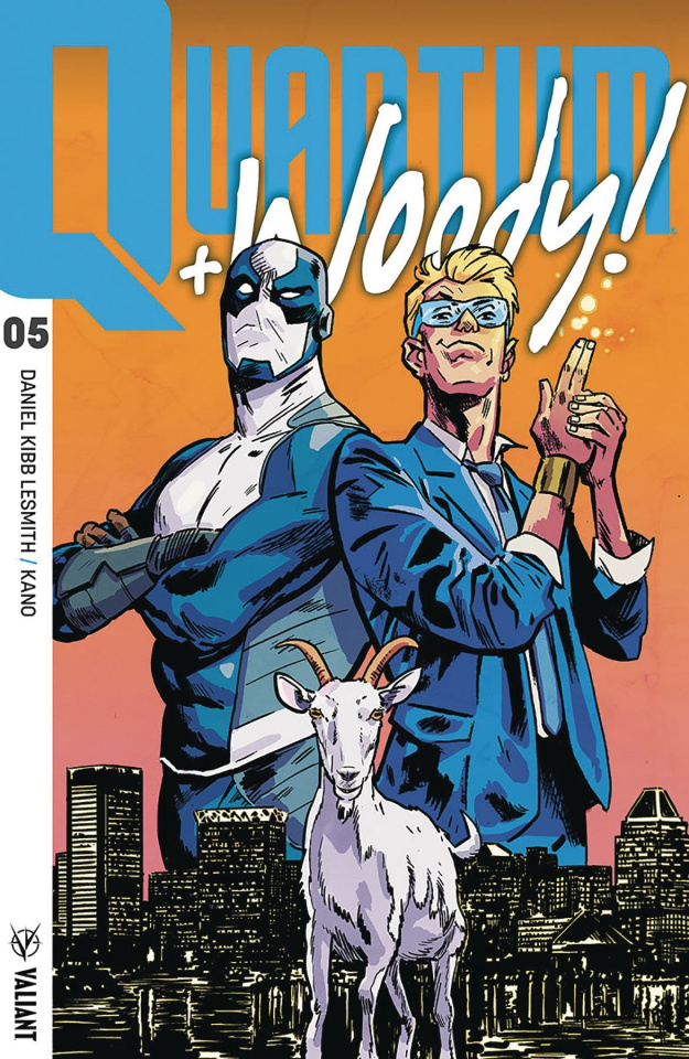 Quantum & Woody #5 (Walsh Cover)