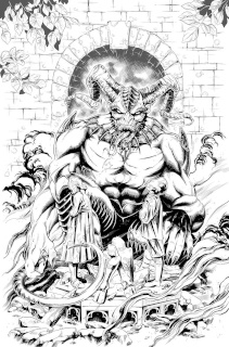 Grimm Fairy Tales: Satan's Hollow #6 (Otero Cover)