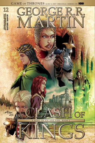 A Game of Thrones: A Clash of Kings #12 (Subscription Rubi Cover)