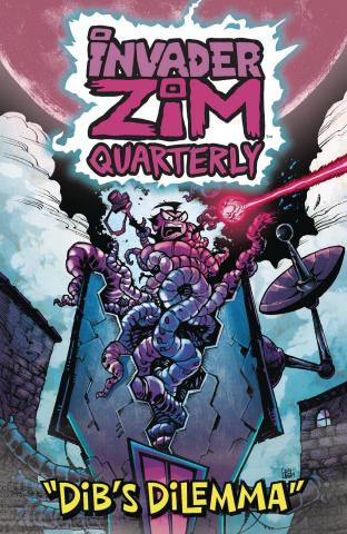 Invader Zim Quarterly #2 (Crosland Cover)