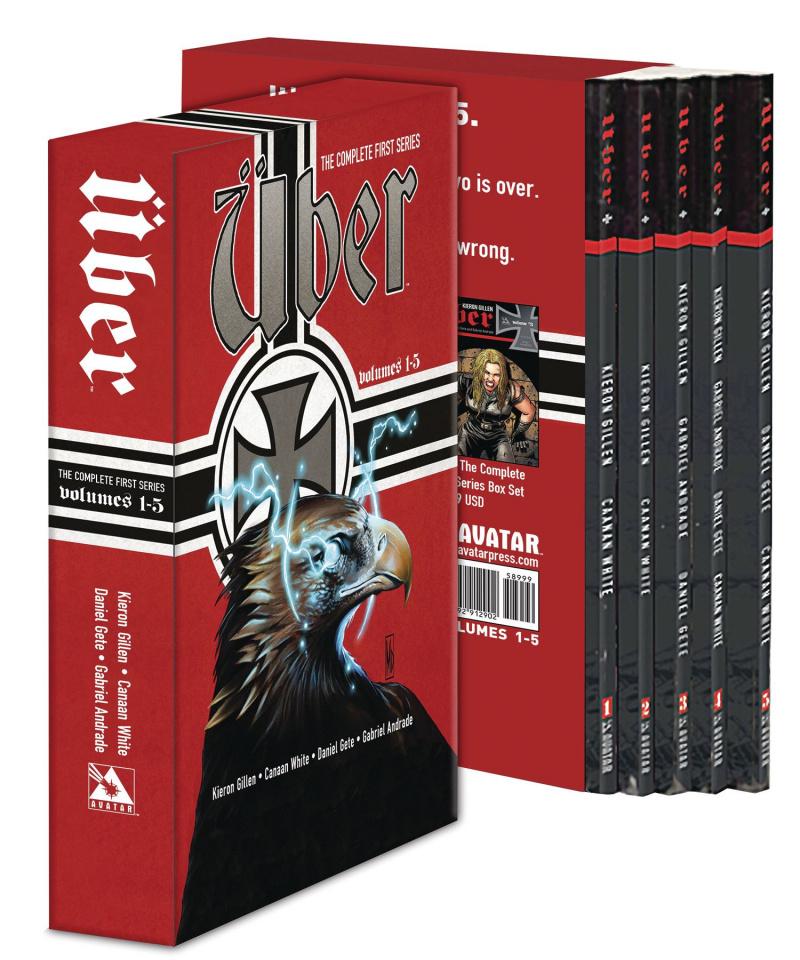 Über: The Complete First Series Vols 1-5 (Slipcase Set)