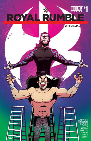 WWE Royal Rumble 2018 Special #1 (Guillory Cover)
