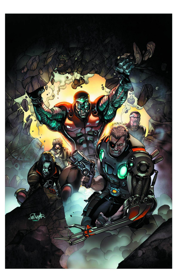 Cable and X-Force #3 (2nd Printing)