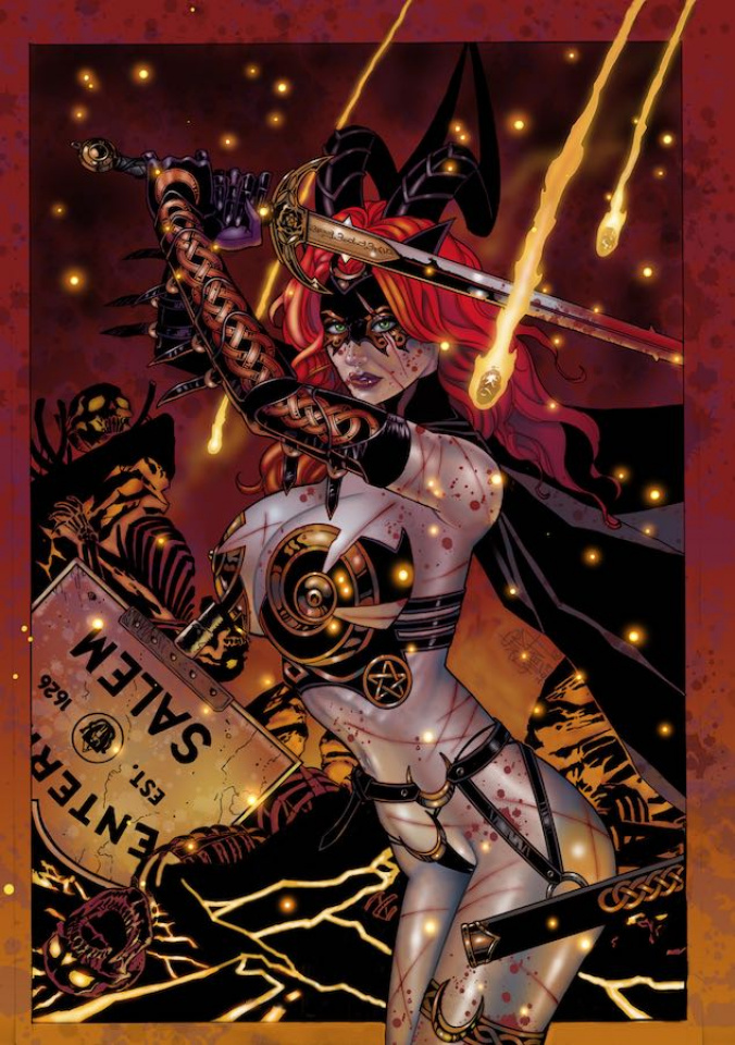 Tarot: Witch of the Black Rose #117 (10 Copy Cover)