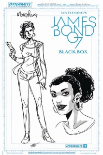 James Bond: Black Box #1 (Moneypenny Artboard Cover)