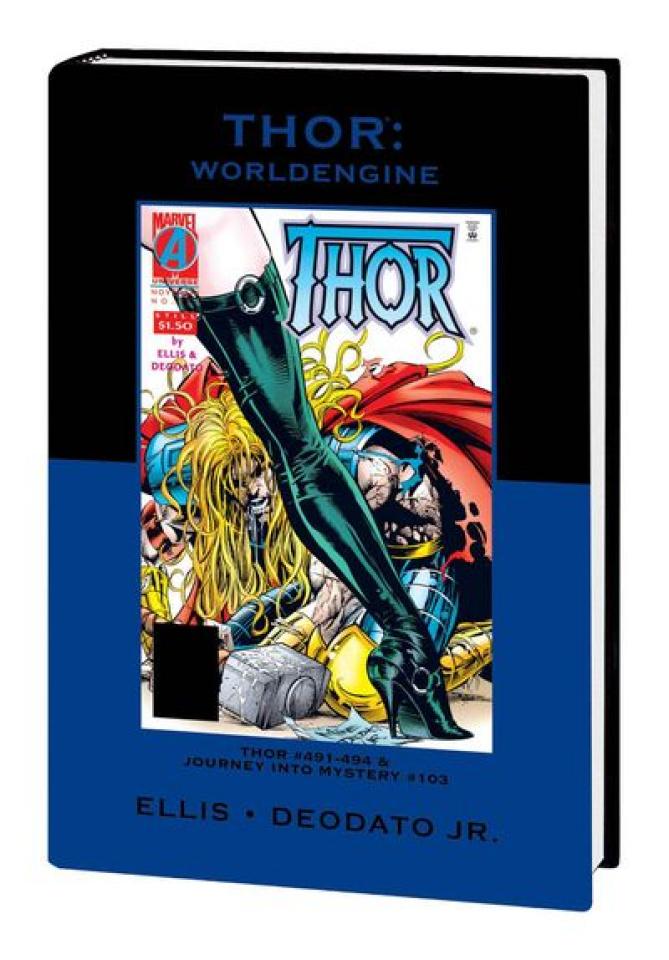Thor: Worldengine Variant Hardcover