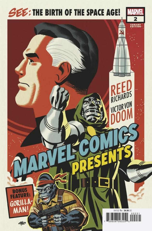 Marvel Comics Presents #2 (Michael Cho Cover)