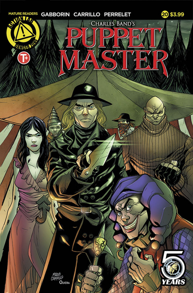 Puppet Master #20 (Carrillo Cover)