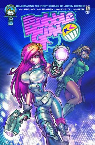 BubbleGun #5 (Andolfo Cover)