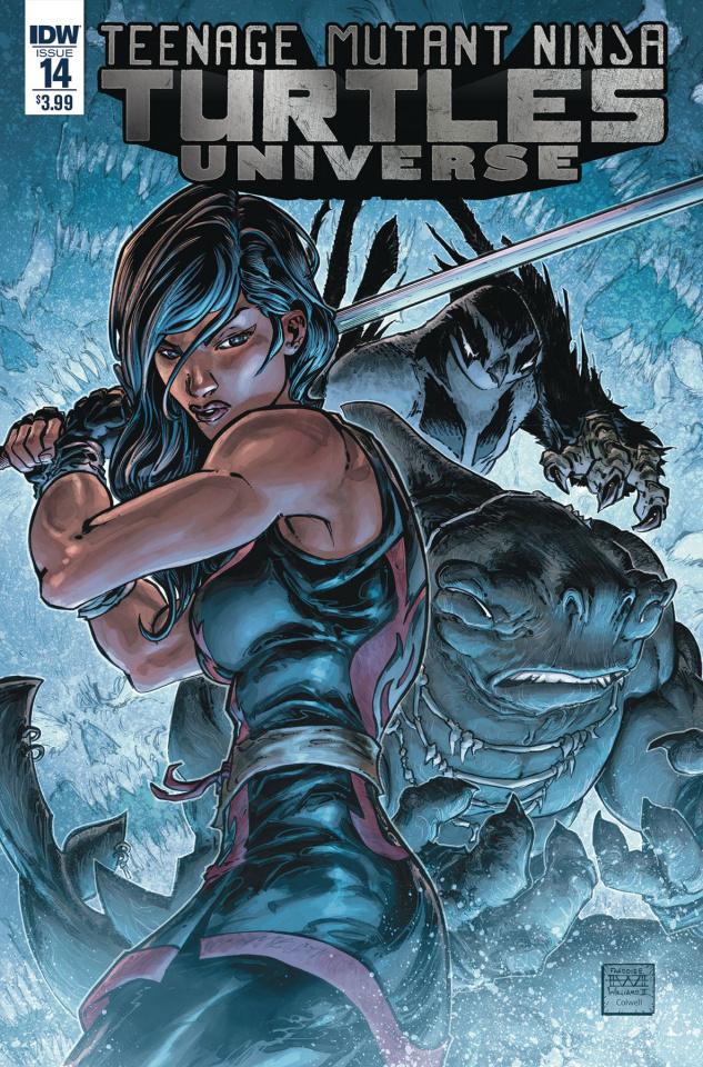 Teenage Mutant Ninja Turtles Universe #14 (Williams II Cover)