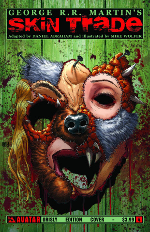 Skin Trade #4 (Grisly Cover)