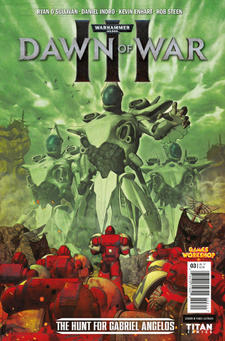 Warhammer 40,000: Dawn of War III #3 (Listrani Cover)