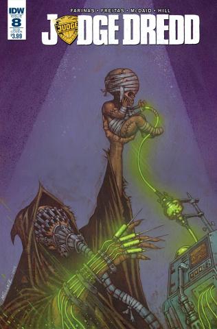 Judge Dredd #8 (Subscription Cover)