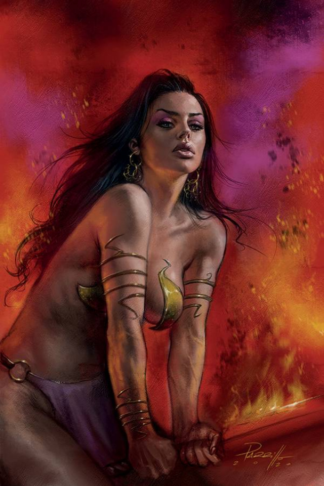 Dejah Thoris #8 (Parrillo Virgin Cover)