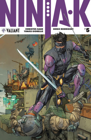 Ninja-K #5 (20 Copy Rocafort Cover)