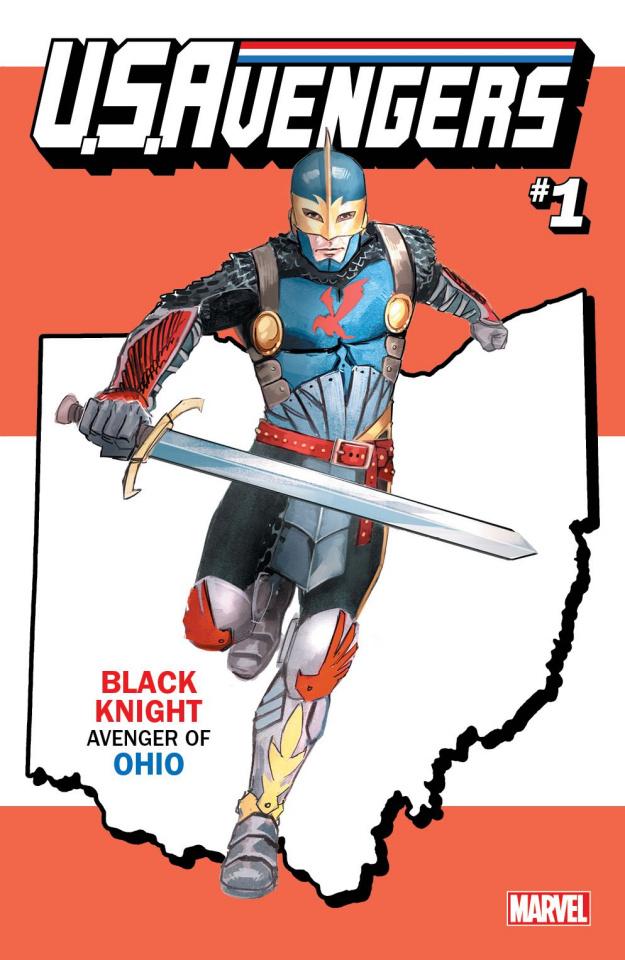 U.S.Avengers #1 (Reis Ohio State Cover)
