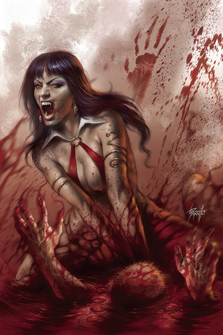 Vengeance of Vampirella #3 (Parrillo Virgin Cover)