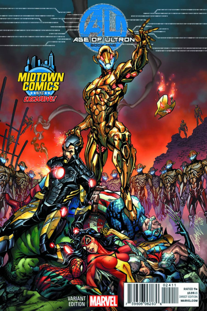 Age of Ultron #1 (Midtown Cover)