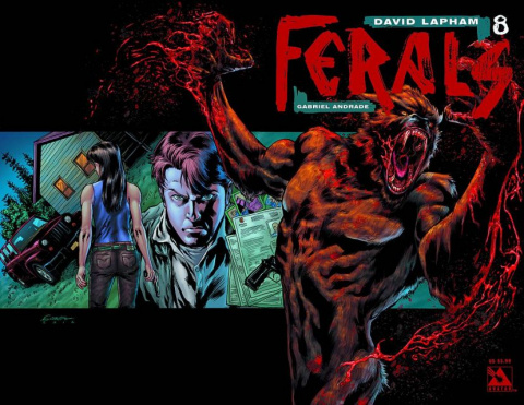 Ferals #8 (Wrap Cover)