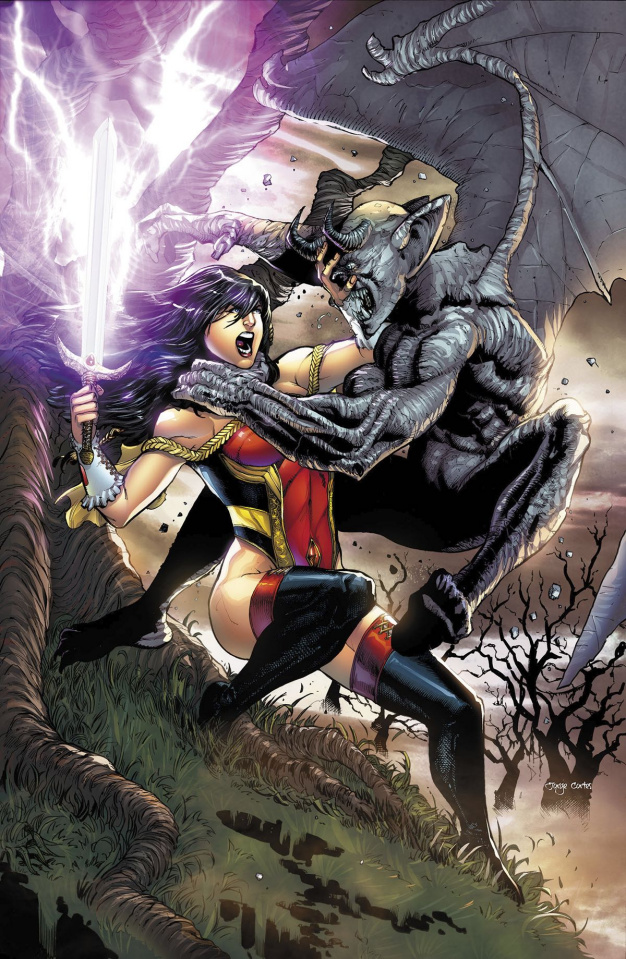 Grimm Fairy Tales #8 (Diaz Cover)