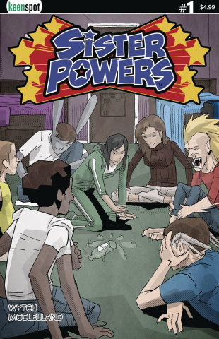 Sister Powers #1 (Spin the Bottle Cover)