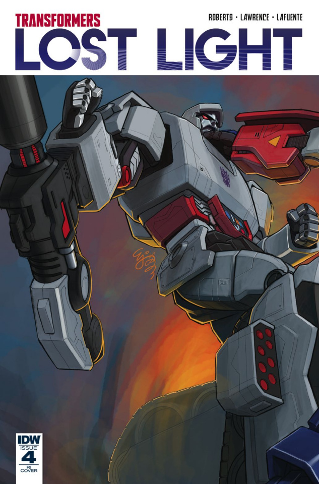 The Transformers: Lost Light #4 (10 Copy Cover)