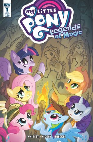 My Little Pony: Legends of Magic #1 (Subscription Cover)