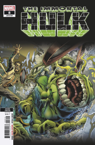 The Immortal Hulk #8 (Bennett 2nd Printing)