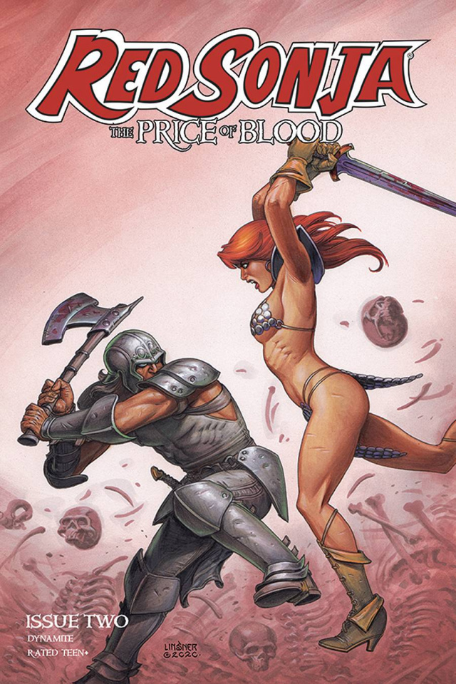 Red Sonja: The Price of Blood #2 (Linsner Cover)