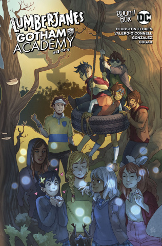 Lumberjanes / Gotham Academy #4 (Subscription Matthews Cover)