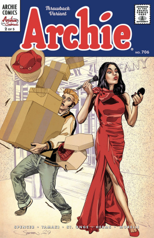 Archie #706 (Archie & Sabrina Mooney Cover)