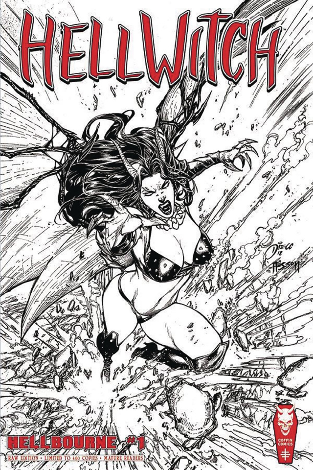 Hellwitch: Hellbourne #1 (Signed and Numbered Edition)