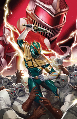 Mighty Morphin' #2 (50 Copy Lee Cover)