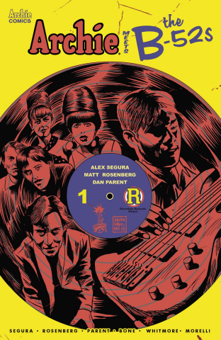Archie Meets the B-52s #1 (Francavilla Cover)