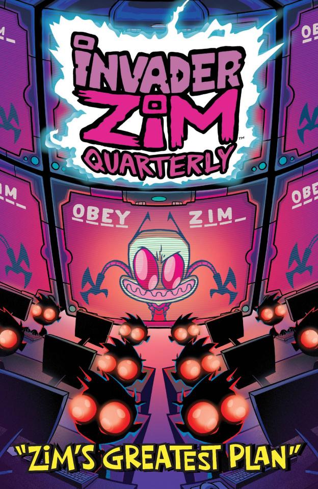 Invader Zim Quarterly: Zim's Greatest Plan #1 (Stresing Cover)
